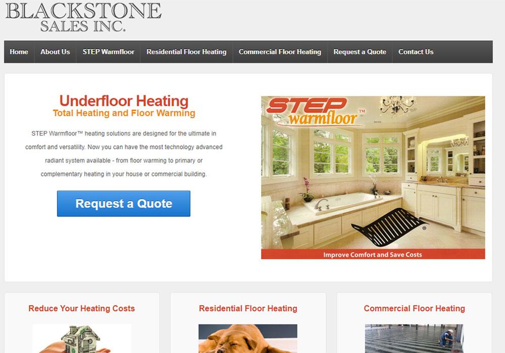 Black Stone Sales - Rob Ellis Wordpress Web Design Burlington