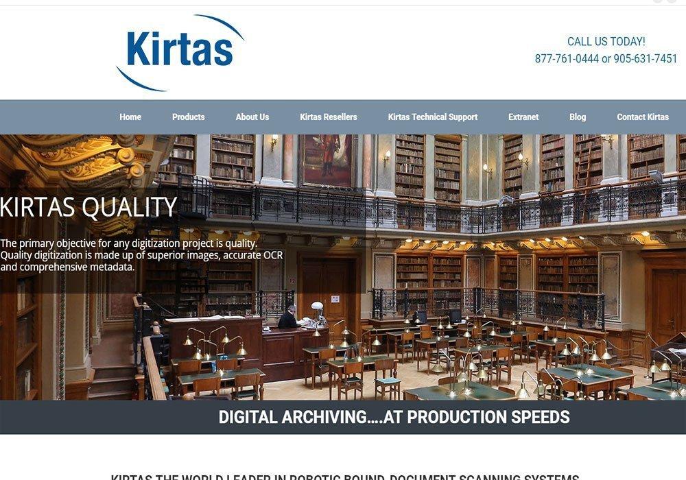 Kirtas Website