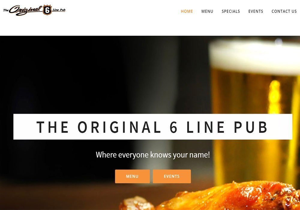 The Original 6 Line Pub