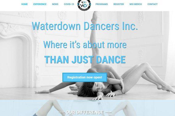 Waterdown Dancers Inc. website